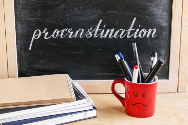 Prokrastinácia - ilustračný obrázok