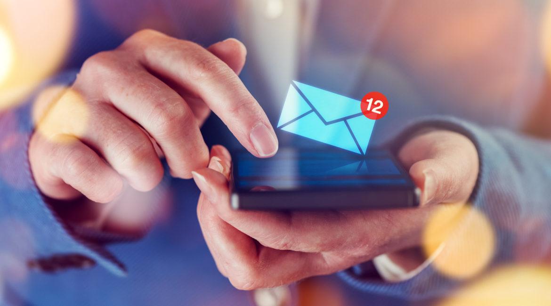 e-mail spracovanie pravidlo jedného dotyku